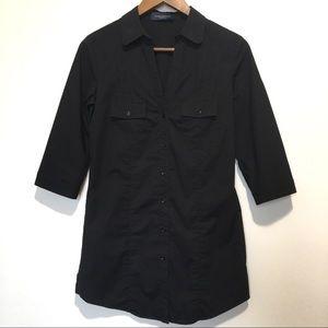 Piazza Sempione button down shirt tunic. Sz S
